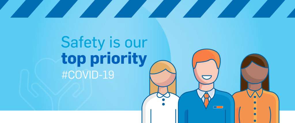 CDCV Safety Is Our Top Priority Web Banner