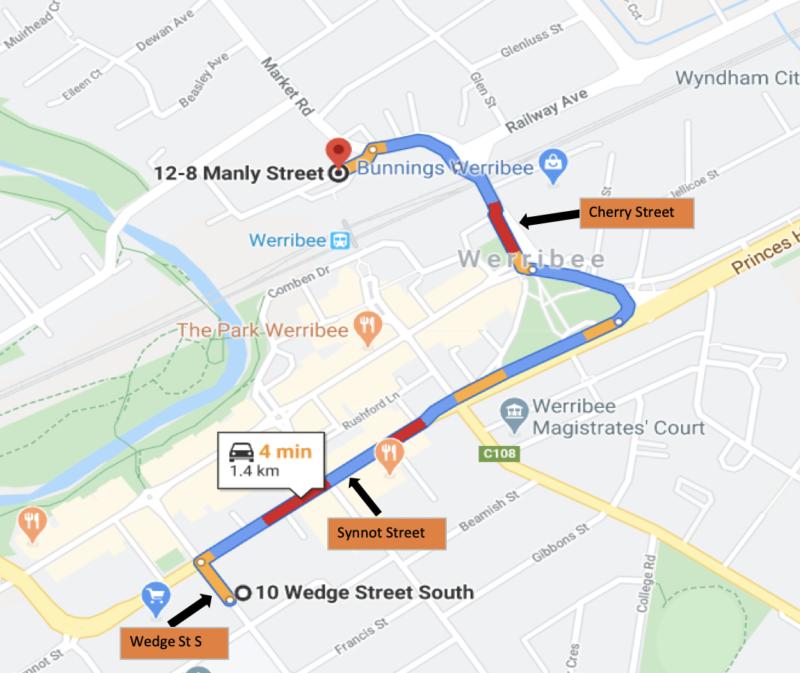 443 Werribee Street Level Crossing Closure