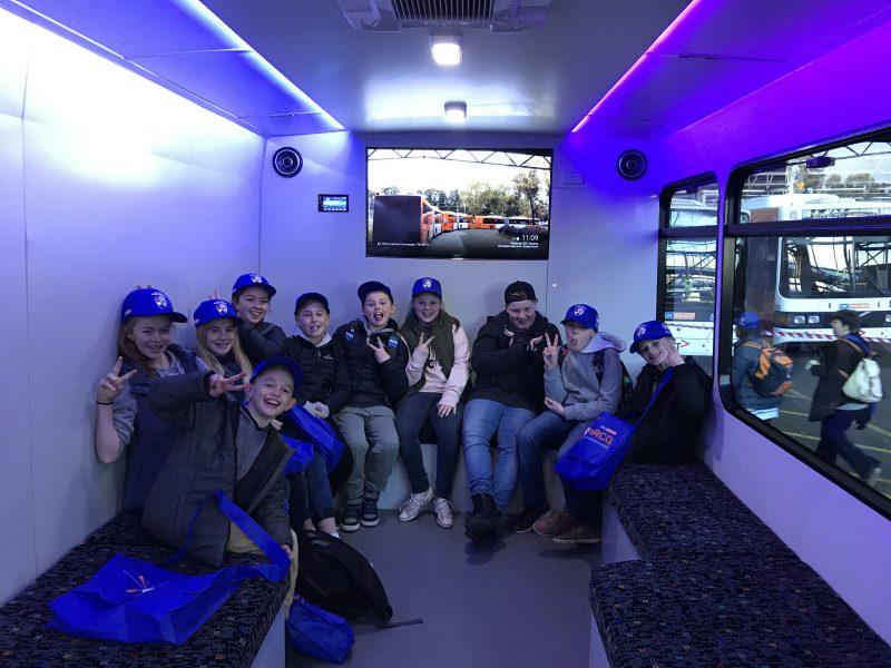 Kids Inside Promo Bus