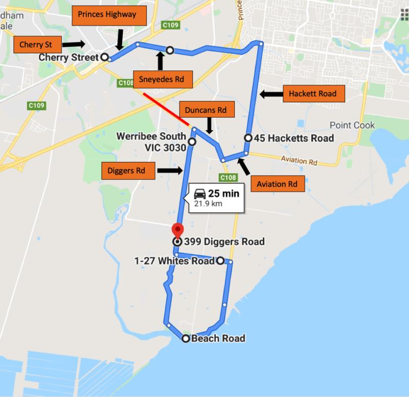 Route 439 Detour