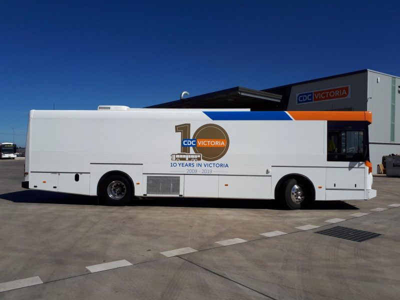 The 24 Year Old Track Bus As Community Engagement Partners