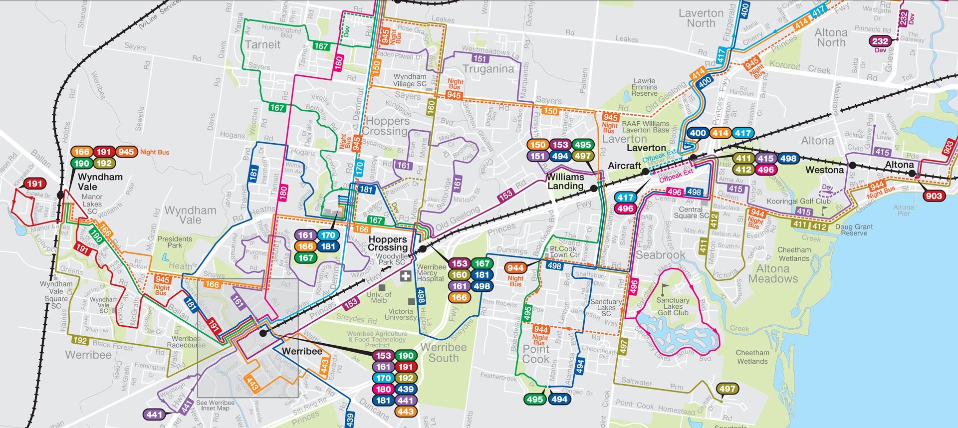 Wyndham bus timetables & maps | CDC Victoria